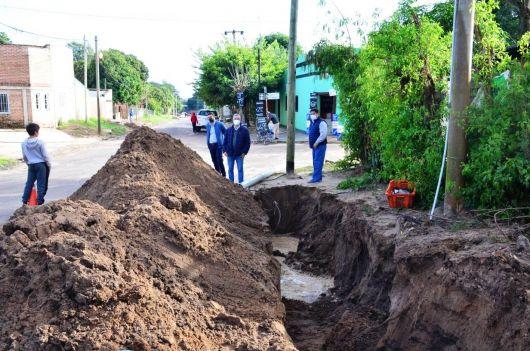 Obras públicas en Barrio Norte