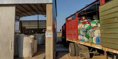 Bella Vista recibió nuevo cargamento de fitosanitarios